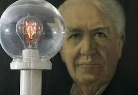 Thomas Edison - Inventor of the electric light bulb