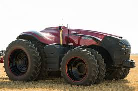 Self-driving tractor