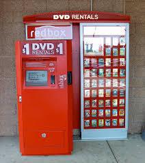 Video Rentals today include kioks