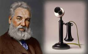 Alexander Graham Bell invented the telephone.