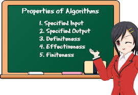 Properties of algorithms